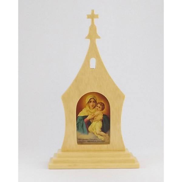 Santuário Mãe Rainha 17x10cm