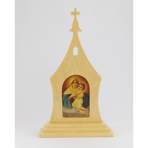 Santuário Mãe Rainha 28x17cm