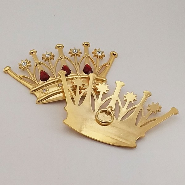 Coroa Extra Grande (13,6cmx8cm)