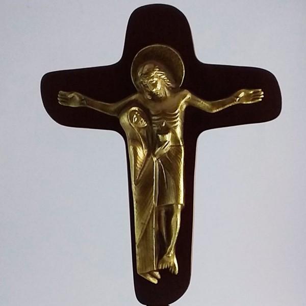 Cruz da Unidade (Com fundo de madeira-34cm)