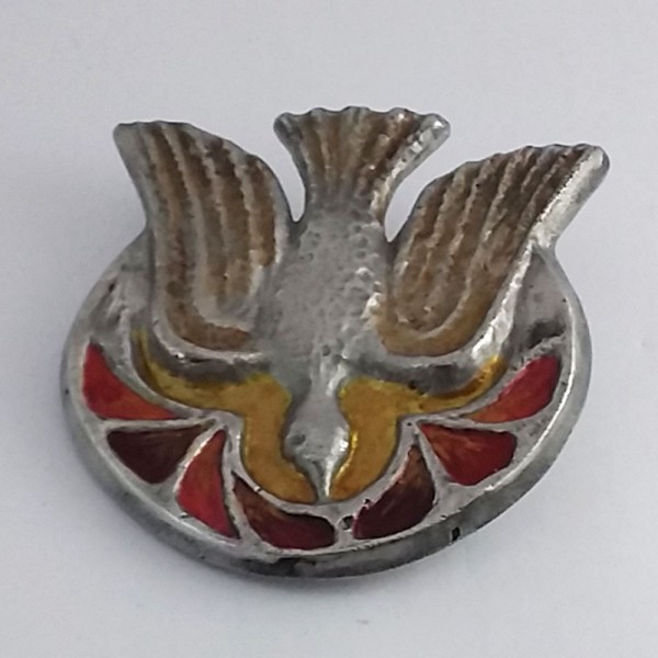 Medalhão do Espírito Santo (Alumínio-10,5cm)