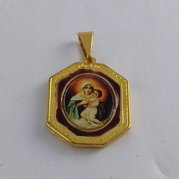Medalha - Octogonal pequena