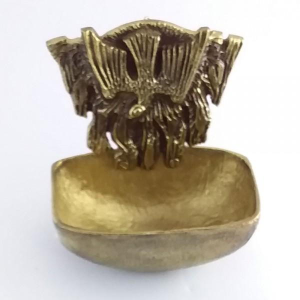 Pia de água benta Espírito Santo (Bronze-12cm)